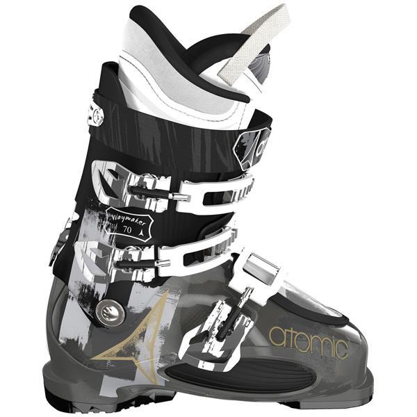 Atomic Waymaker 70 Ski Boots Smoke / Black U.S.A. & Canada