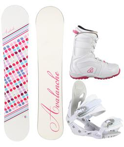 Avalanche Finesse Snowboard Package