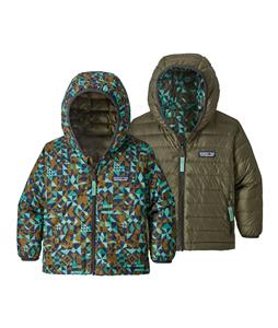 Patagonia Baby Reversible Down Sweater Hoody Jacket