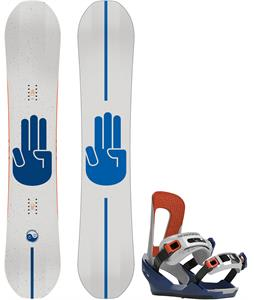 Bataleon Chaser Wide Snowboard w/ Chaser Bindings