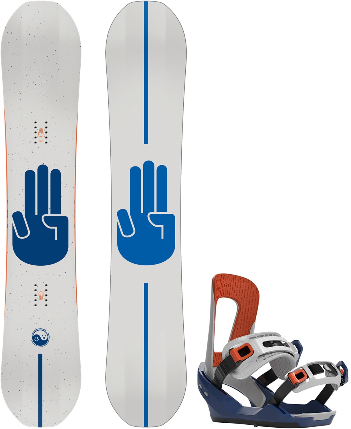Bataleon Chaser Wide Snowboard W/ Chaser Bindings 2020