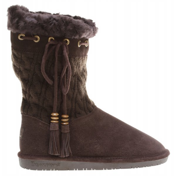 Bearpaw Constantine Solid nit Casual Boots Chocolate U.S.A. & Canada