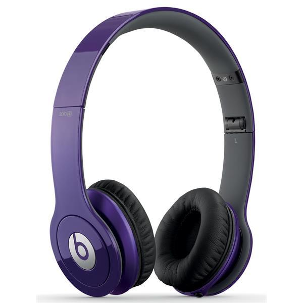 Beats Solohd Headphones Purple U.S.A. & Canada