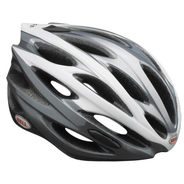 Bell Lumen Bike Helmet White / Silver Standard Issue U.S.A. & Canada