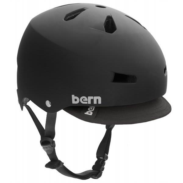Bern Macon W / Visor Bike Helmet Black U.S.A. & Canada