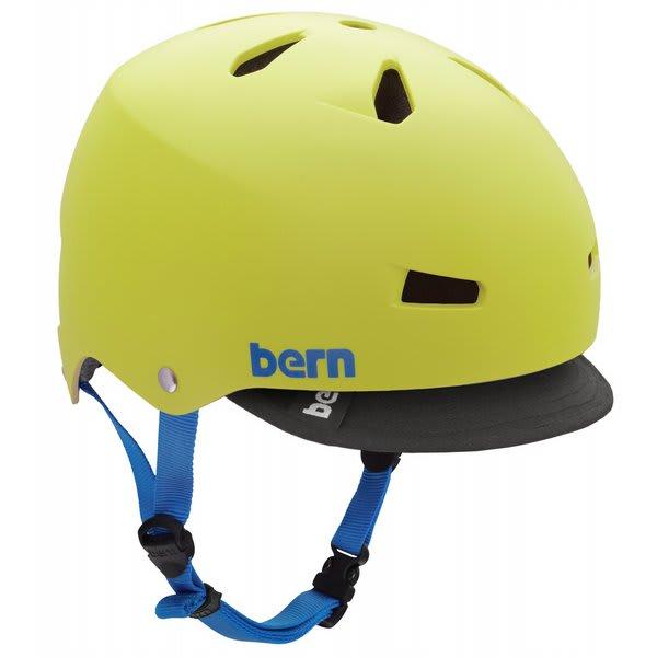 Bern Macon W / Visor Bike Helmet Neon Yellow U.S.A. & Canada