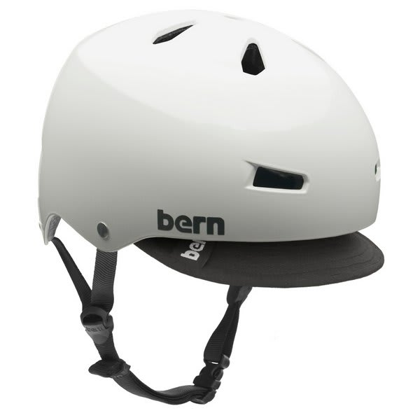 Bern Macon W / Visor Bike Helmet White U.S.A. & Canada