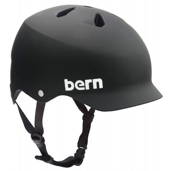 Bern Watts Bike Helmet Matte Black U.S.A. & Canada