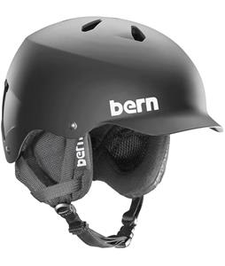 Bern Watts w/ 8 Tracks Audio Snow Helmet