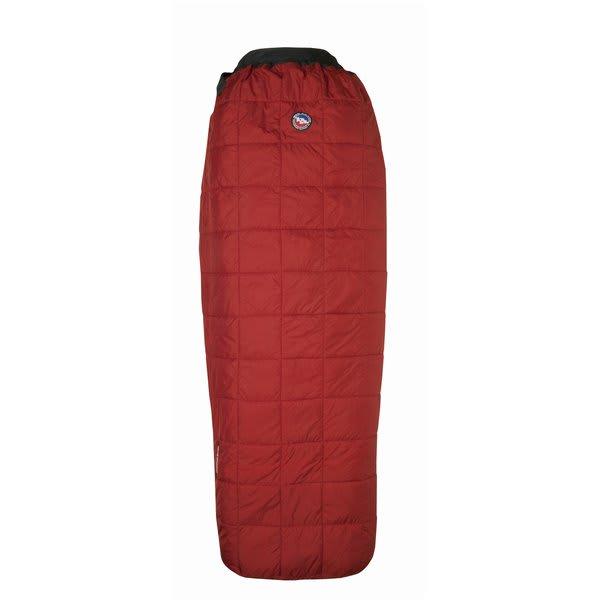 Big Agnes Cross Mountain 45 Regular Right Sleeping Bag Red U.S.A. & Canada