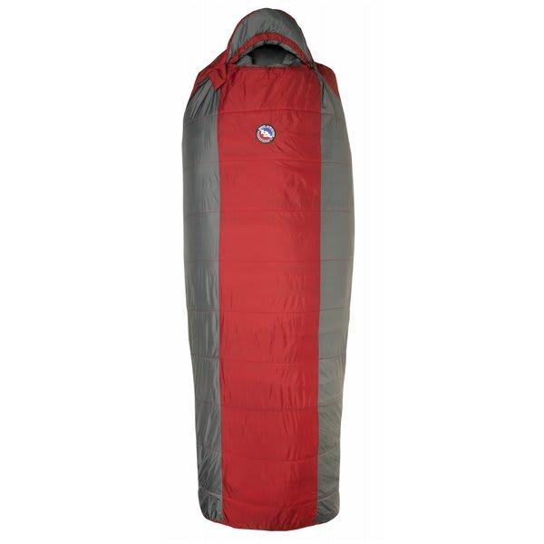 Big Agnes Encampment 15 Regular Right Sleeping Bag Red / Gray U.S.A. & Canada