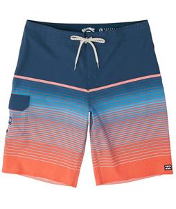 Billabong All Day Heather Stripe Pro 20in Boardshorts