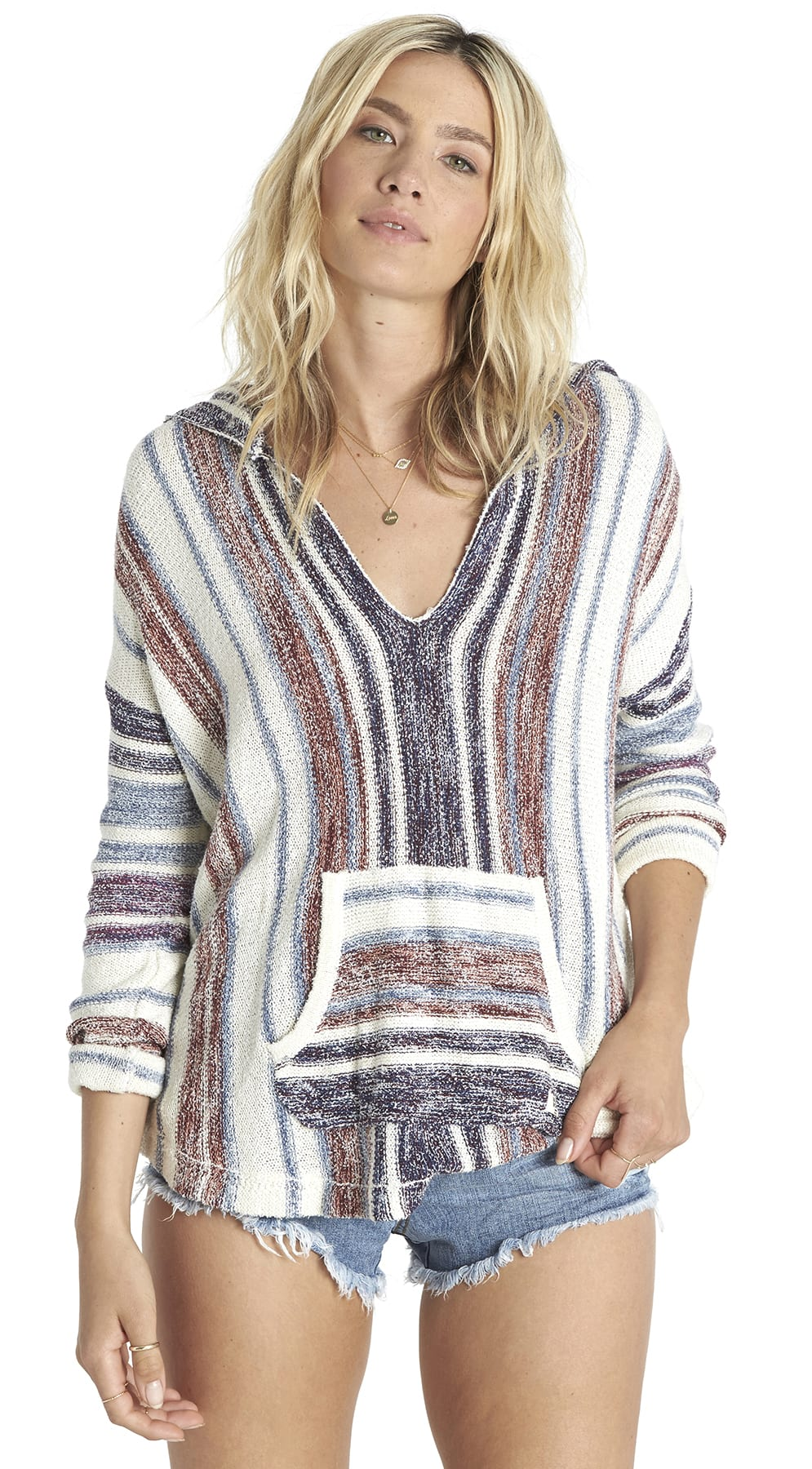 Billabong Island Baja Hooded Sweater Womens