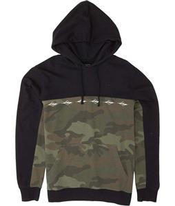 Billabong Wave Washed Blocked Pullover Hoodie