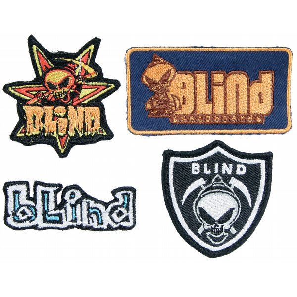 Blind Fuse Skateboard Patches U.S.A. & Canada