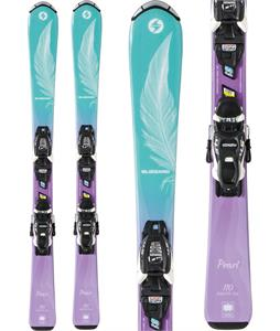 Blizzard Pearl Jr Skis w/ FDT JR 4.5 Bindings