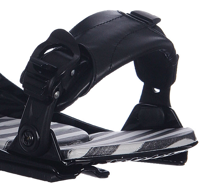 Bent Metal Step In Snowboard Bindings