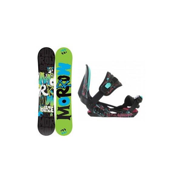Morrow Blaze Snowboard W / Rossignol Rookie Bindings Black U.S.A. & Canada