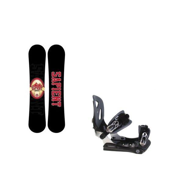 Sapient Wisdom Snowboard W / Lamar Mx30 Bindings Black U.S.A. & Canada
