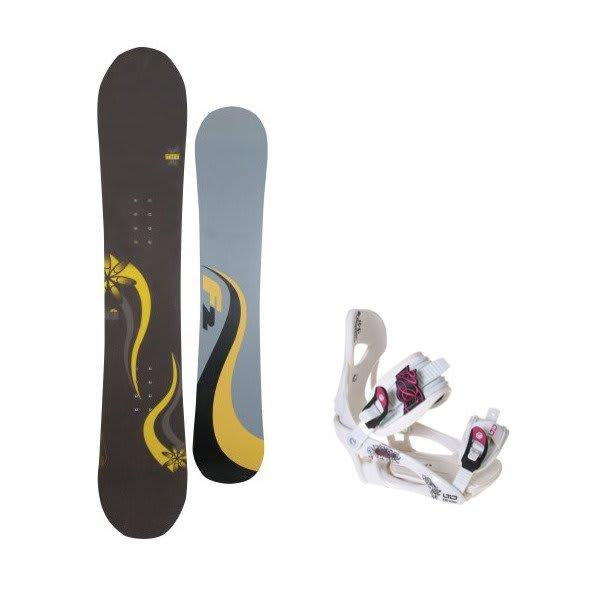 F2 Gipsy Snowboard W / Ltd Lt250 Bindings U.S.A. & Canada