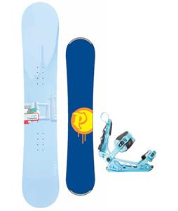 Palmer Touch Snowboard w/ K2 Cinch Tryst Bindings