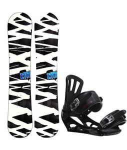 2117 of Sweden Hintertux Wide Snowboard w/ Rossignol Battle V1 Bindings