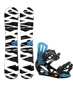 2117 of Sweden Hintertux Wide Snowboard w/ Rossignol Battle V2 Bindings