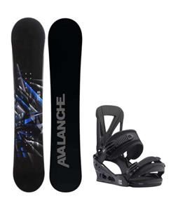 Avalanche Source Snowboard w/ Burton Custom Re:Flex Bindings