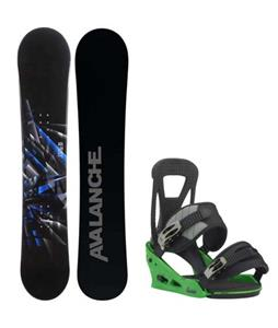 Avalanche Source Snowboard w/ Burton Freestyle Re:Flex Bindings