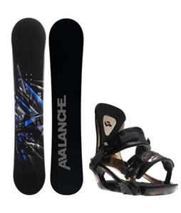 Avalanche Source Snowboard w/ Ride KX Bindings