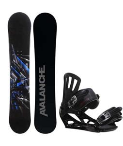 Avalanche Source Snowboard w/ Rossignol Battle V1 Bindings