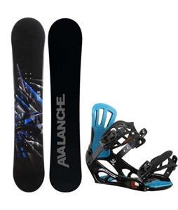 Avalanche Source Snowboard w/ Rossignol Battle V2 Bindings