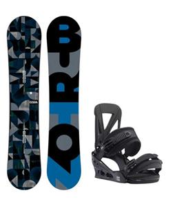 Burton Clash Snowboard w/ Burton Custom Re:Flex Bindings