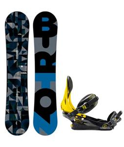 Burton Clash Snowboard w/ Rome Arsenal Bindings