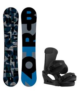 Burton Clash Wide Snowboard w/ Burton Custom Bindings