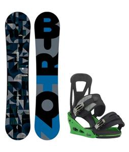 Burton Clash Wide Snowboard w/ Burton Freestyle Re:Flex Bindings