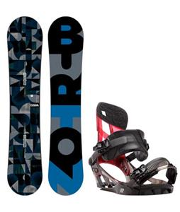 Burton Clash Wide Snowboard w/ K2 Hurrithane Bindings