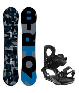 Burton Clash Wide Snowboard w/ K2 Lien AT Bindings