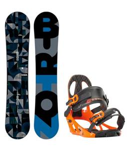 Burton Clash Wide Snowboard w/ K2 Sonic Bindings