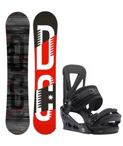 DC Focus Camber Snowboard w/ Burton Custom Re:Flex Bindings