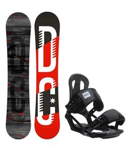 DC Focus Camber Snowboard w/ Head NX One Bindings
