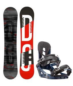 DC Focus Camber Snowboard w/ K2 Indy Bindings