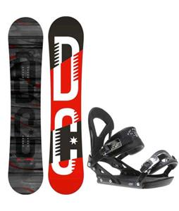 DC Focus Camber Snowboard w/ Ride EX Bindings