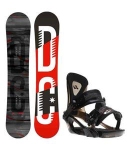 DC Focus Camber Snowboard w/ Ride KX Bindings