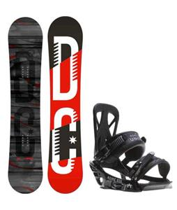 DC Focus Camber Snowboard w/ Rome United Bindings