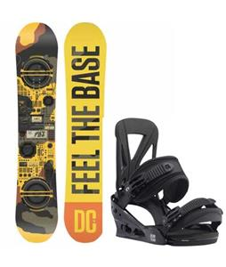DC PBJ Snowboard w/ Burton Custom Re:Flex Bindings
