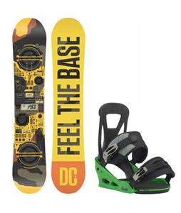 DC PBJ Snowboard w/ Burton Freestyle Re:Flex Bindings