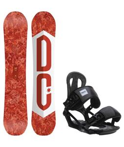 DC Ply Snowboard w/ Head NX One Bindings