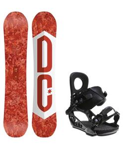 DC Ply Snowboard w/ K2 Lien AT Bindings