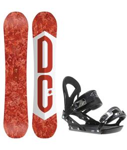 DC Ply Snowboard w/ Ride EX Bindings